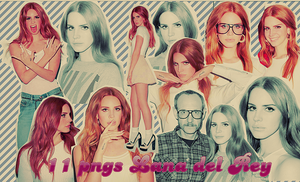 11 png's de Lana Del Rey by Terry Richardson by NadyiloveJudas