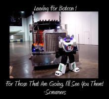 Leaving For Botcon by Scream01