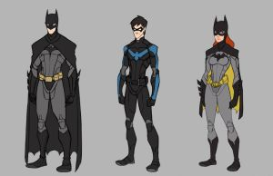Bat Family Wip by jkim910