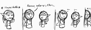 LoH: Nazar gets Bored by FayeleneFyre