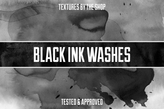 Black ink wash textures by simonh4