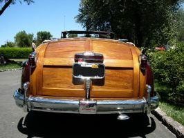 1946 Chrysler Town and Country Convertible Butt by RoadTripDog