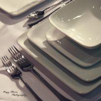 Wedding tableware I by livvvv17