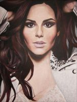 Cheryl Cole Painting by Charlzton
