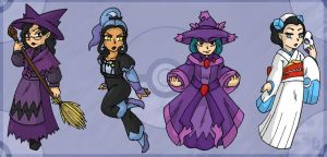PokePeople: Ghost Type by MuseWhimsy