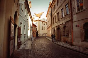 .The Streets of Prague. by cichutko