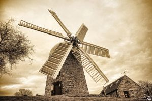 Heage Windmill by Engazung