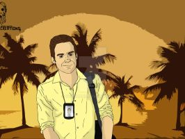 Dexter - Dexter Morgan by day by Vecthand