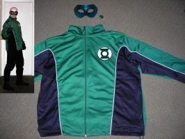 Green Lantern Jacket by ajb3art