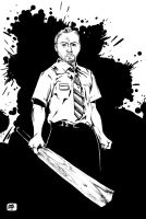 Shaun of the Dead by M-Everham