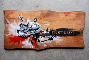 IT'S NOT A GAME by bogl