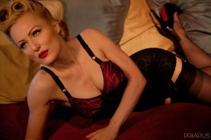 Pin Up - Ruby - 4 by PhotosByPriapus