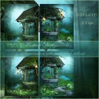 Fairy Wood 3 small pack by moonchild-ljilja