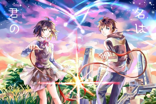 Kimi no na wa by Exictantial