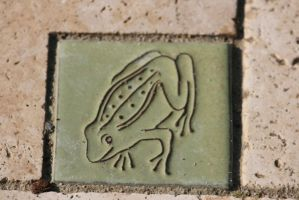 frog tile by ingeline-art