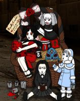 Living Dead Dolls Easter by BlackMageAnna