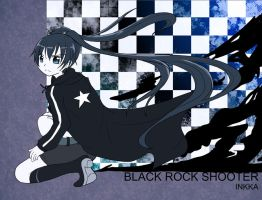 BLACK ROCK SHOOTER by inkphoenix