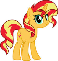 Cute Sunset Shimmer by Osipush