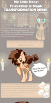 Transformation Meme part 1 with Coco Waffer by Sutexii