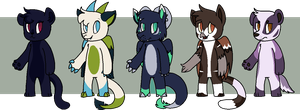 [CLOSED] - Furry Adopts 2 by Featheries