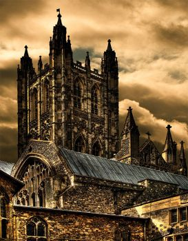 Canterbury-Cathedral-2 by downhillfrenzy