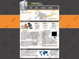 Hosting Layout by sigsource