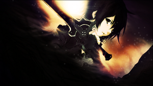 Sword Art Online - Kirito Signature PSD by ArtieFTW