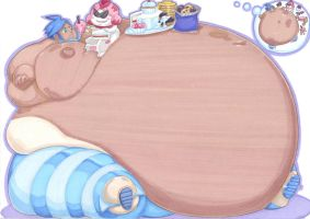 training a wailord by prisonsuit-rabbitman