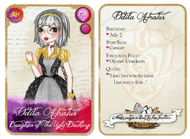 Ever After High: Odila Character Card by Fireflowermaiden