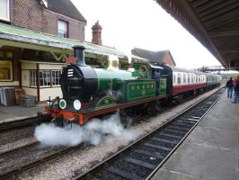 SECR H-Class at Sheffield Park by rh281285