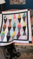 lava lamp quilt by peaceocake
