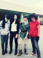 Creepypasta Cosplay! by xPastaSketcherx