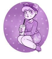 Bubble Tea by OwlBeAwkward