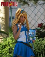 Lucy Heartfilia Cosplay by Xeylen