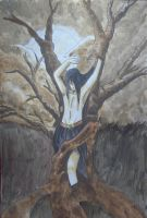 The man in the tree by Durah