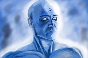 Watchmen - Dr. Manhattan by VarrenUnicorn