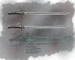 Sword Concept by Feivelyn