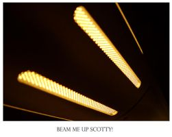 Beam me up... by MarcWasHere