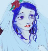 The corpse bride by Rozeria
