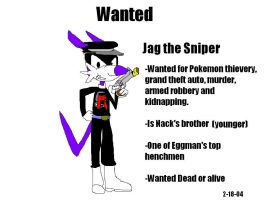 Jag the Sniper by Marcusthehedgehog