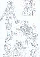 Speedline sketches by Star10