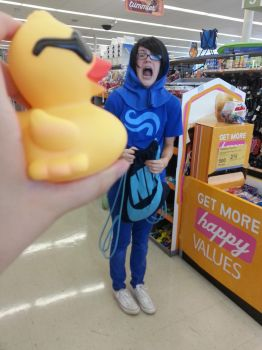 John Is Attacked By A Duck by RainbowRumpusCosplay