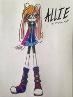 Allie The bunny by BooPoe
