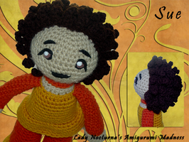 Sue - Amigurumi Doll by Lady-Nocturna