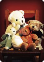 Teddies by Ginkoftw