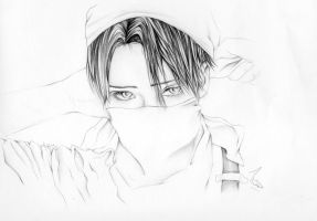Rivaille's eyes ~ by KHForeverWithYou