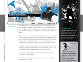Ski Products Site by montgomeryq