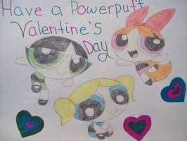 Powerpuff Valentines by Strawberry-of-Love