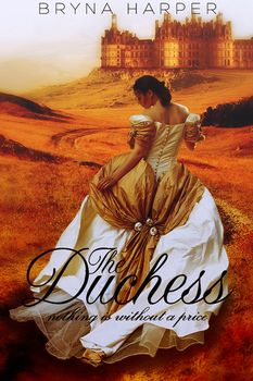 Book Cover - The Duchess by BrynaHarper
