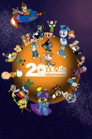 Nicktoons 20th Anniversary by AdvancedDefense